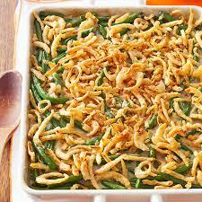 thanksgiving bean casserole green bean casserole recipe taste of home