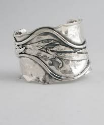 Handcrafted Sterling Silver Jewellery - sterling silver cuff cs14 cs14 marksz co sterling 盞 west