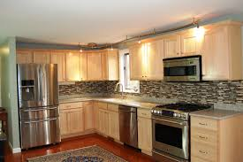 How To Paint Veneer Kitchen Cabinets by Cabinet Restaining Restain Kitchen Cabinets Darker Home Design