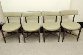 atlas chairs and tables antiques atlas set of 4 g plan kofod larsen design chairs g plan