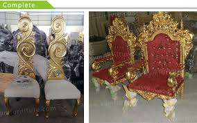 King And Queen Throne Chairs White Wedding Wood Queen Chair King Throne Chair Buy King Throne