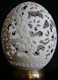 decorated ostrich eggs for sale custom engraved easter eggs power carving wood carving high