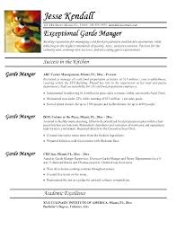 cook resume exles sle of chef resume sles for cook cover letter executive