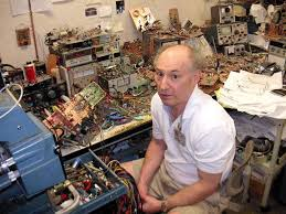 jim williams in his lab rip jim workshop of the world