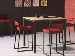 table de cuisine haute fascinant table haute de cuisine bloc2 283 29 chaise en verre