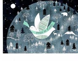 peace on earth dove deluxe cards by pauper