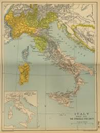 Map Of Italy by Map Of Italy Since 1815