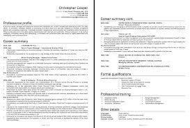 procurement resume sample resumedoc