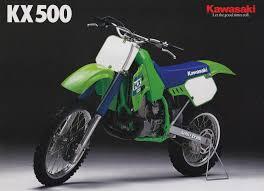 racing cafè vintage brochures kawasaki kx 500 1988 usa bikes