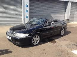 saab convertible black 2002 saab 93 9 3 aero convertible electric black roof