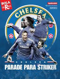 jual majalah bola series chelsea parade para striker scoop indonesia