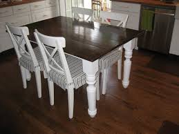 small farmhouse table and chairs best small farmhouse kitchen table home plans regarding small