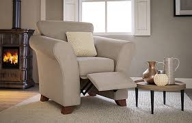 M S Armchairs Abbey Chair Recliner Manual M U0026s