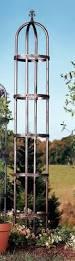 Obelisk Trellis Metal Garden Trellis Steel Obelisk Climbing Vine Support Lawn Stake