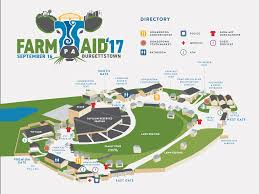 App State Campus Map by Farm Aid Festival Venue Information