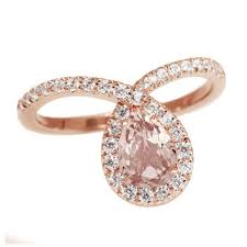 Rose Gold Wedding Rings For Women by Best Pear Shaped Rose Gold Engagement Rings Products On Wanelo