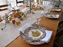 Thanksgiving Table Setting by Jenny Steffens Hobick Holidays Entertaining Thanksgiving