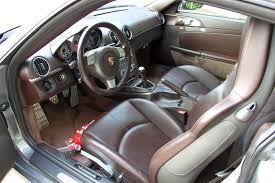 Porsche Cayman Interior Test Drive 2008 Porsche Cayman S