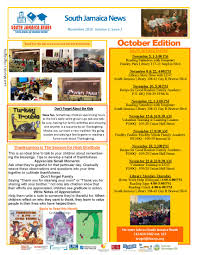 thanksgiving reading activity south jamaica reads features pchp in november newsletter parent
