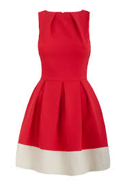 red fit and flare dress women fit and flare dresses design ideas