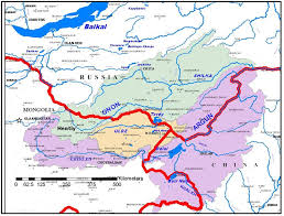 Central And Northern Asia Map by Will Argun Erguna River Be Sacrificed By China For Coal And Energy