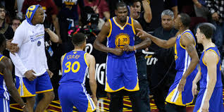 kevin durant hits dagger to put warriors in 3 0 lead of cavs in