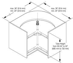 Lazy Susans For Cabinets by 19 Kitchen Lazy Susan Cabinet How To Install Bi Fold Lazy