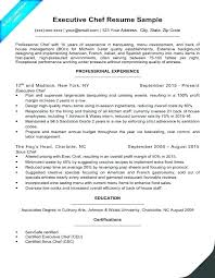 chef resume templates resume template for chef pastry chef resume resume template free