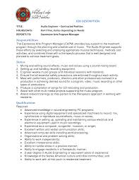 Product Manager Sample Resume by Live Sound Engineer Sample Resume Haadyaooverbayresort Com