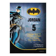 batman invitations u0026 announcements zazzle