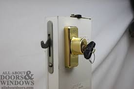 Locks For Patio Sliding Doors Replacing A Sheared Tailpiece Receiver In An Andersen Sliding