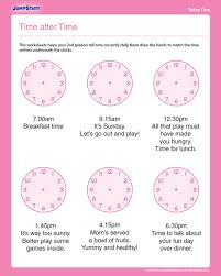 time after time free time worksheet for 2nd grade homeschool