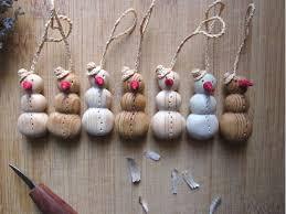 snowman ornament christmas tree ornament wood ornament