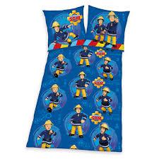 Schlafzimmer Warme Oder Kalte Farben Microfaser Bettwäsche Feuerwehrmann Sam Mit Reißverschluss