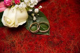 free photo engagement rings flowers wedding free image on