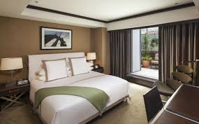 the chatwal new york city one bedroom king suite with terrace garden suite