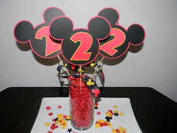 mickey mouse center pieces 37 adorable mickey mouse birthday party ideas