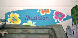 4 foot surfboard wall art hawaiian beach decor wall hanging