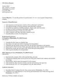 Truck Driver Resume Example Driver Resume Samples Free Unforgettable Truck Driver Resume