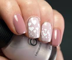 nail polish society blooming valentine hearts