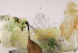 urban sketcher marc taro holmes and his tea milk honey technique