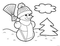 dltk coloring pages snowman wearing gloves frosty photos