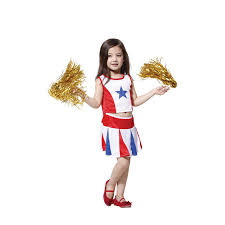 Girls Cheerleader Halloween Costume Buy Wholesale White Cheerleader Costume China White