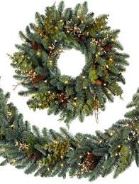 kaemingk snowy alaskan fir christmas tree 210cm available at