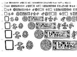 mexican ornaments font dingbats ancient fonts fontzzz