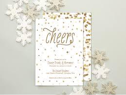 new year u0027s party invitation confetti and glitter