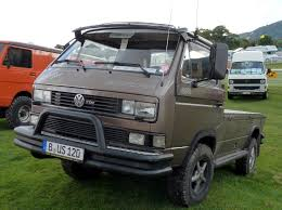 volkswagen westfalia syncro vw 4x4 syncro pickup 4x4 vw bus and volkswagen