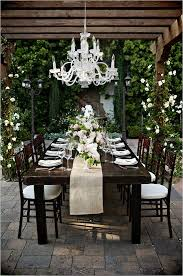 simple backyard wedding ideas glamorous and elegant backyard wedding rustic wood tables wood