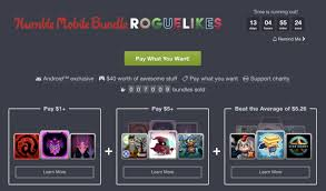android roguelike humble bundle s mobile offering is a set of 9 great