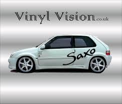 logo citroen citroen saxo sticker kit u2013 vinyl vision